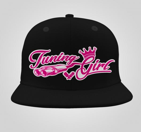 tuning girl snapback wunschcap