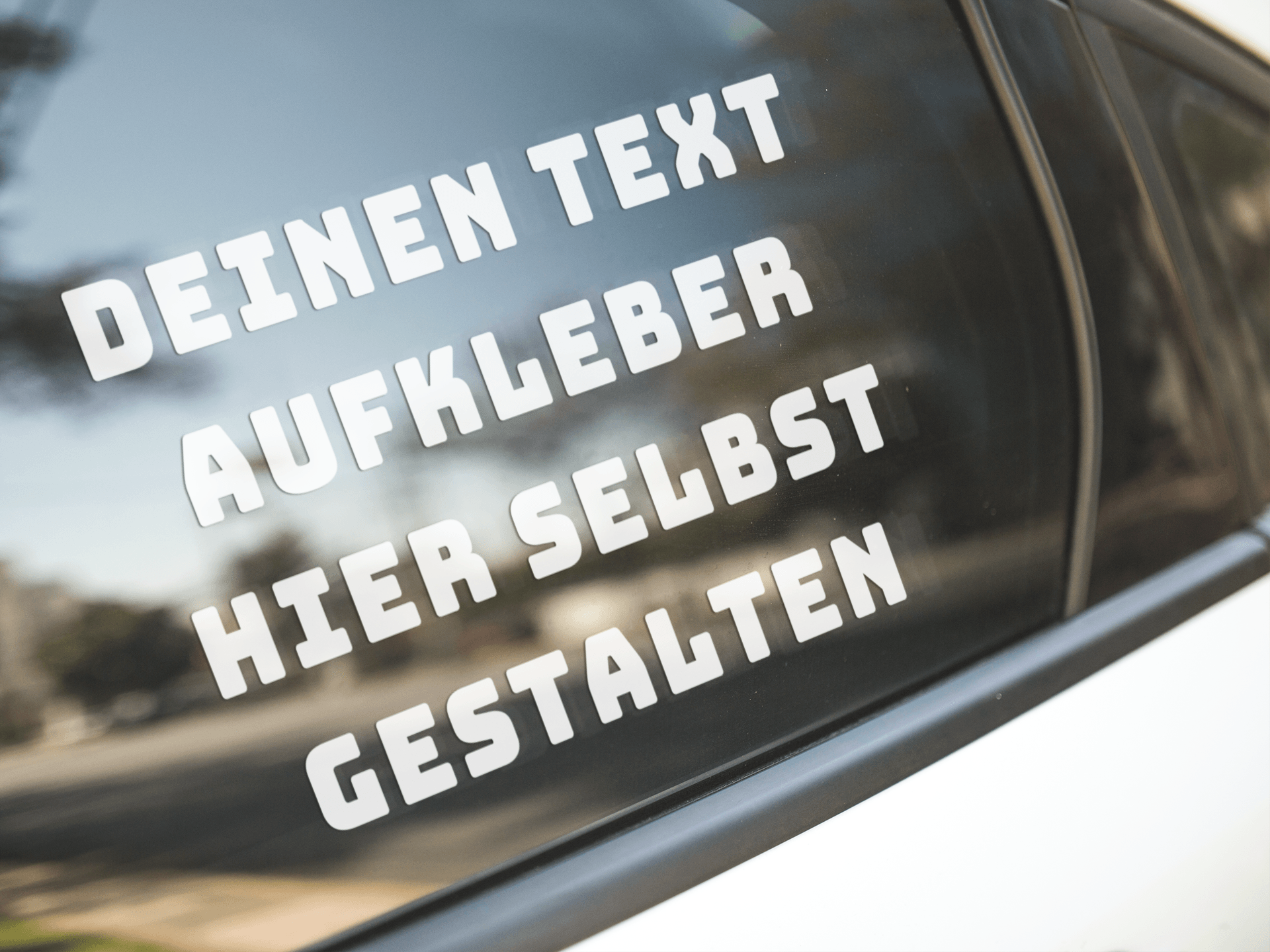 Klebebuchstaben Auto Aufkleber Gestalten Schriftzug Groß