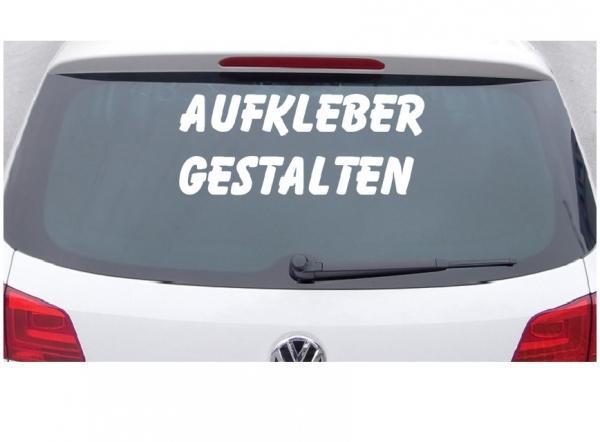 klebebuchstaben auto aufkleber gestalten sticker kaufen
