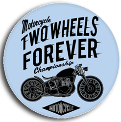 wunschaufkleber biker