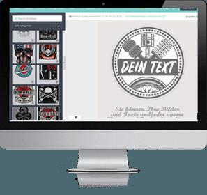 aufkleber designer sticker online gestalten