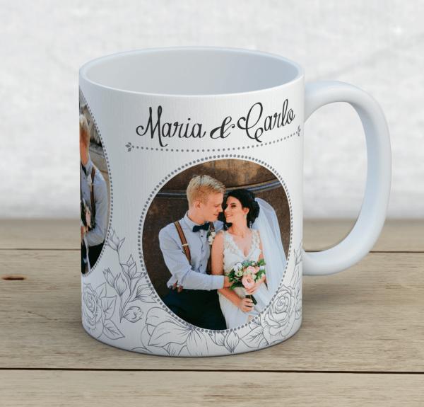 tassendruck geschenk tasse mit druck hochzeitstag fototasse