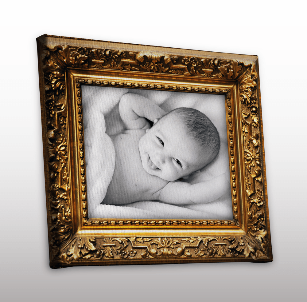 wandbilder kaufen foto auf leinwand in goldrahmenoptik. Black Bedroom Furniture Sets. Home Design Ideas