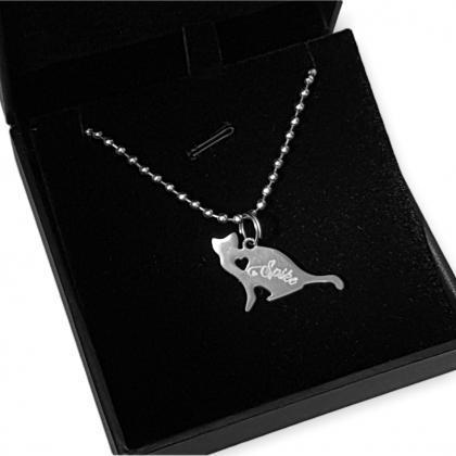 Ketten Anhänger Katzen Geschenke für Katzenliebhaber