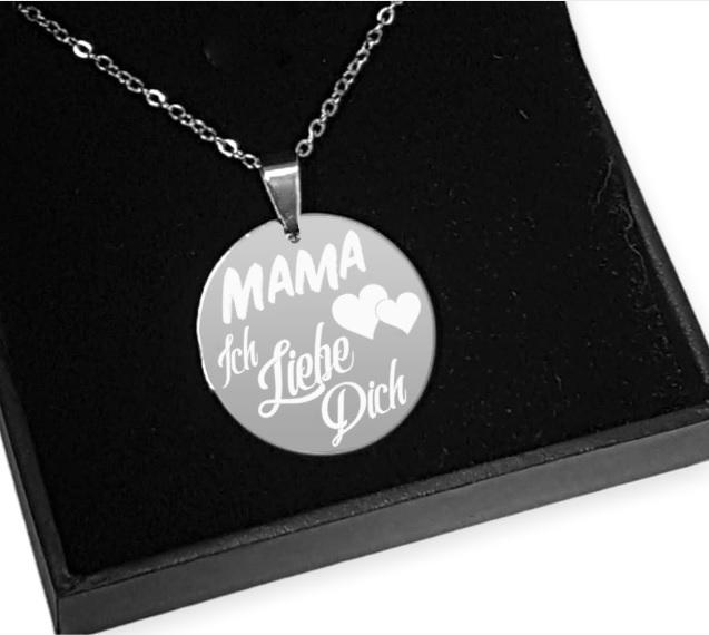 Gravur Kette Geschenk Fur Mama Originelle Geschenkideen Fur Mama