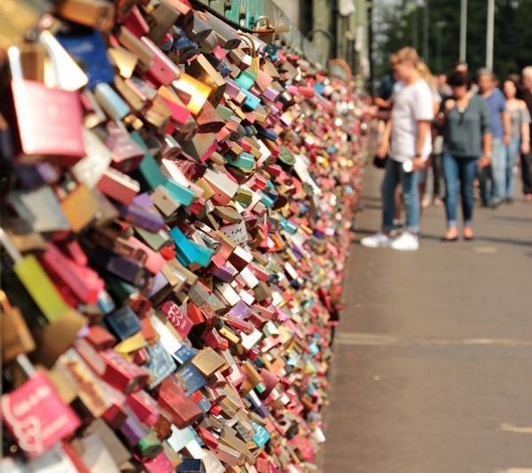 Liebesschloss kaufen Köln