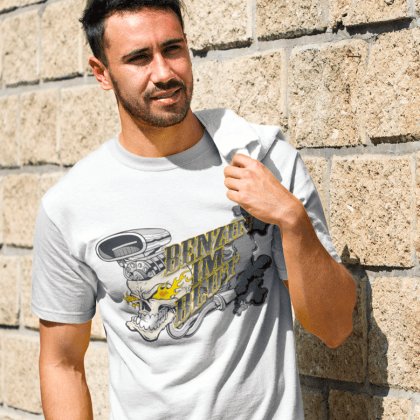 benzin blut motorwear low tuning t-shirt