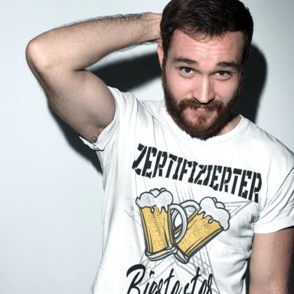 biertester lustige t-shirt gestalten trinken jga