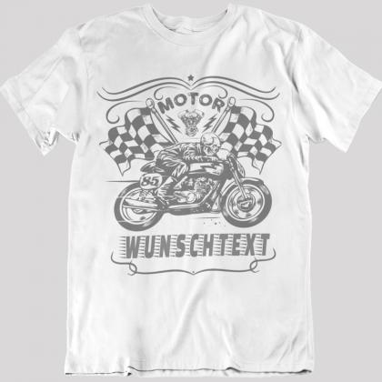 biker motorrad fahrer t-shirts
