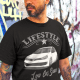 car tuning lifestyle t-shirt low