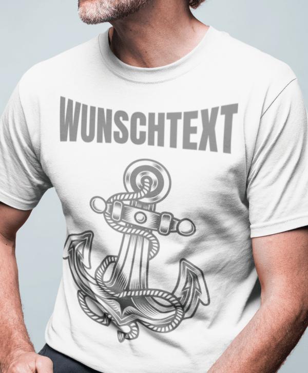 coole anker t-shirt wunschtext selber gestalten