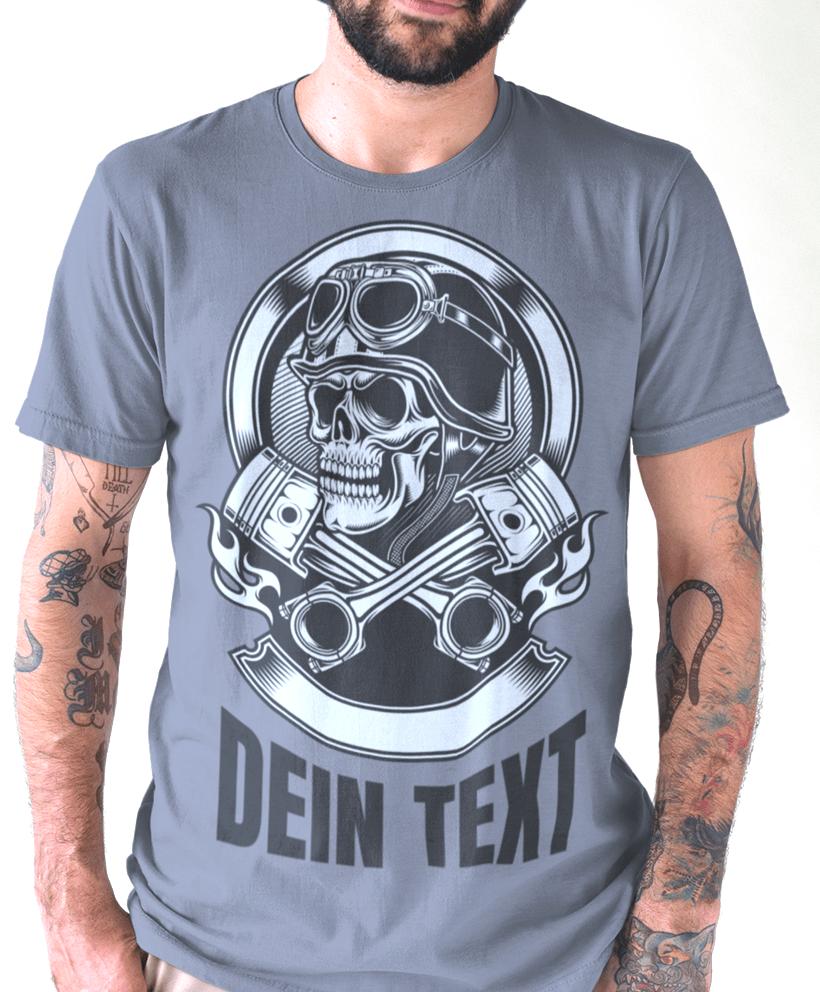 cheap for discount 083c4 e805f Cooles t-shirt mit Totenkopf gestalten - Männer Fashion Shirt
