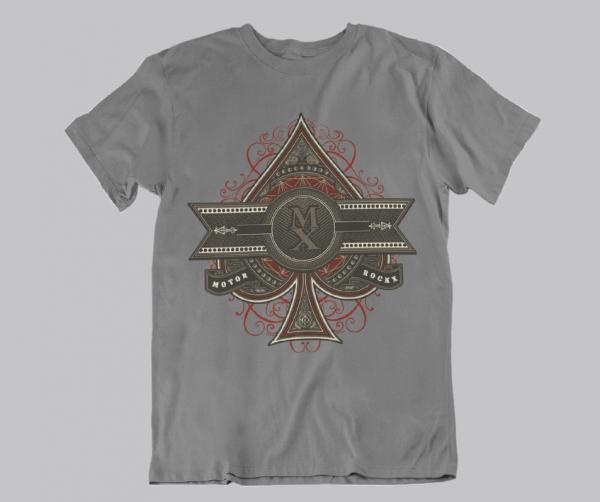 designer t-shirt schönes karten leiberl