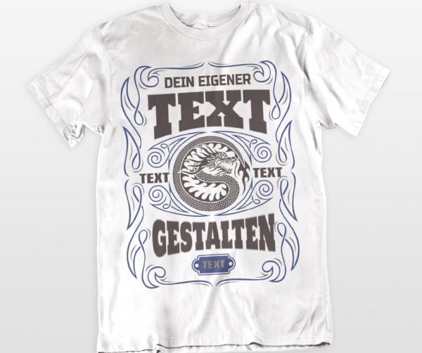 eigener text t-shirts gestalten online