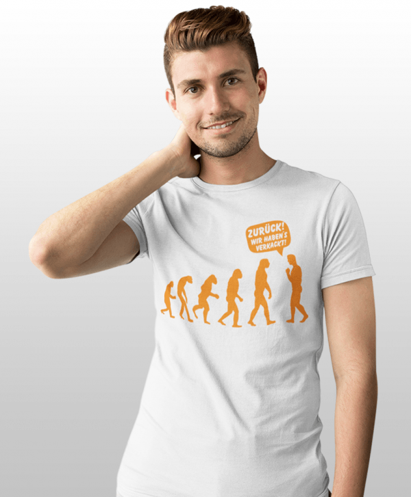 fun shirts evolution t-shirt gestalten