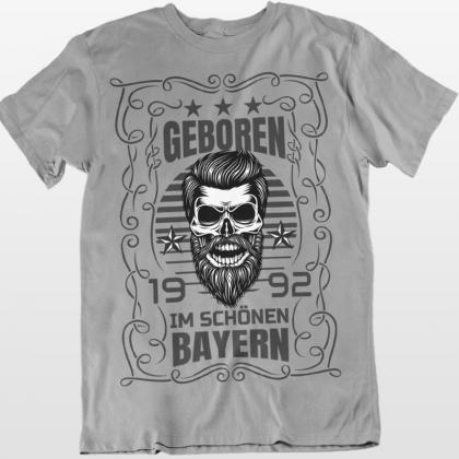 geboren bayern t-shirt städte shirts