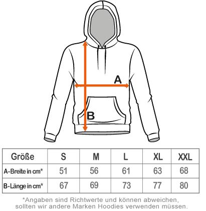 herren hoodie kaufen grössentabelle