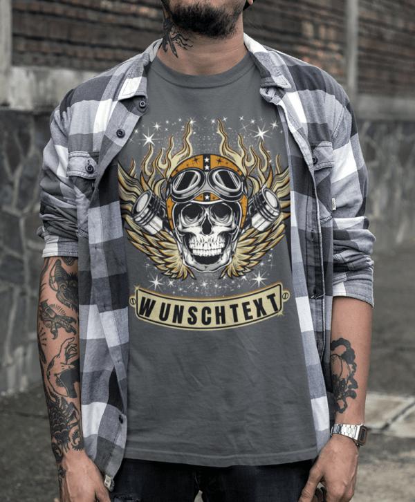 herren mode t-shirts bedrucken lassen
