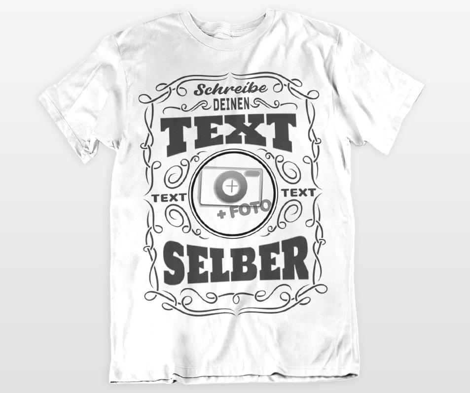 sale retailer 55d8c 9bf4c T-shirt gestalten & bedrucken lassen mit Wunschtext