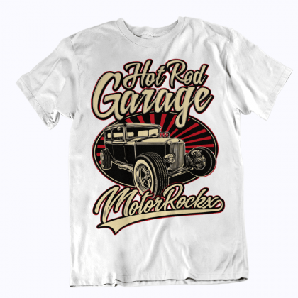 hot rod streetware tuner street t-shirt