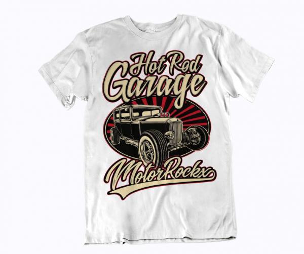hot rod streetware tuner street t-shirt