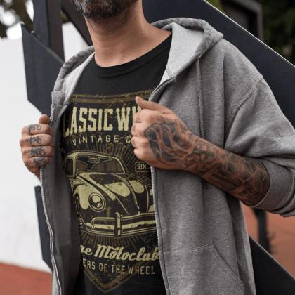 low classic t-shirt vw fan