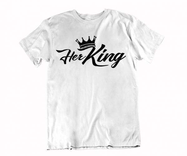 maenner t-shirt king geschenk freund