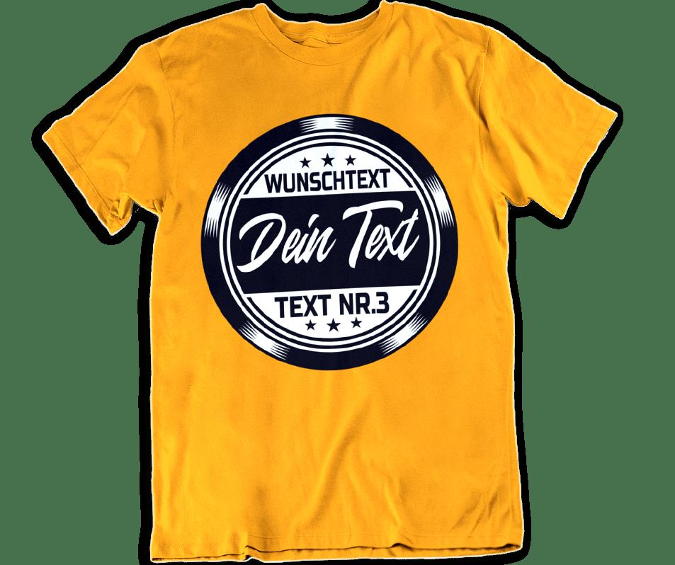T Shirt Print Nach Wunsch Mit Eigenem Text Designen