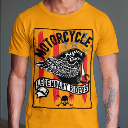 streetware t-shirts motorradfahrer