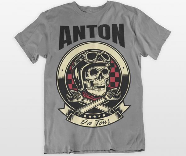t-shirt herren biker männer
