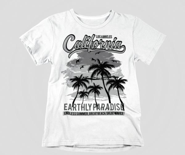 t-shirt Männer fashion surfer