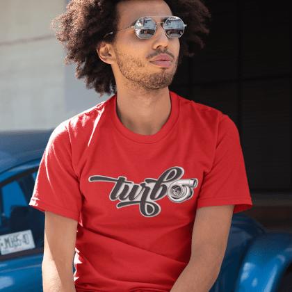 t-shirt turbo car tuning