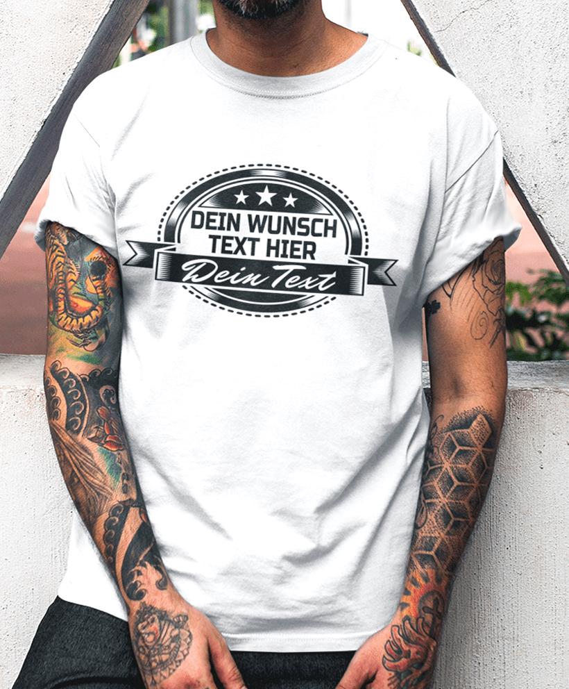 timeless design ea443 7b645 T-shirt nach Wunsch gestalten - Dein Text Namen...