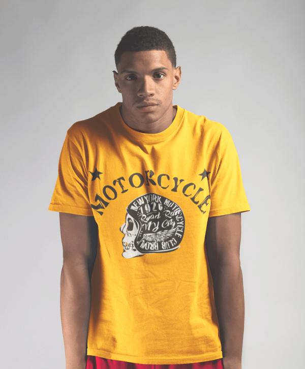 t-shirts herren cool totenkopf