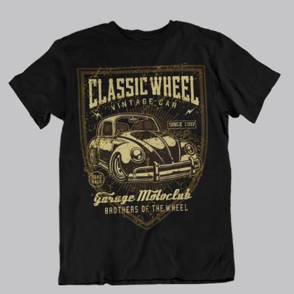 tuning oldschool classic auto t-shirt