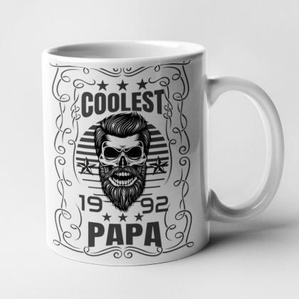 cooler Papa Tattoo Tasse Geschenk Vater