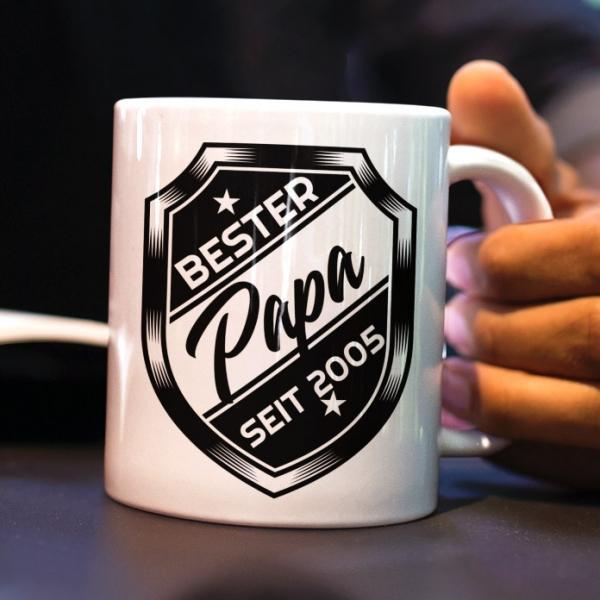 Geschenke Papa Tasse gestalten Wunsch text