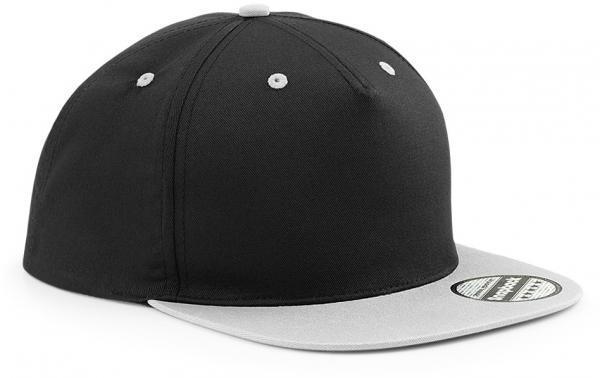 coole-marken-snapback-cap-grau-schwarz