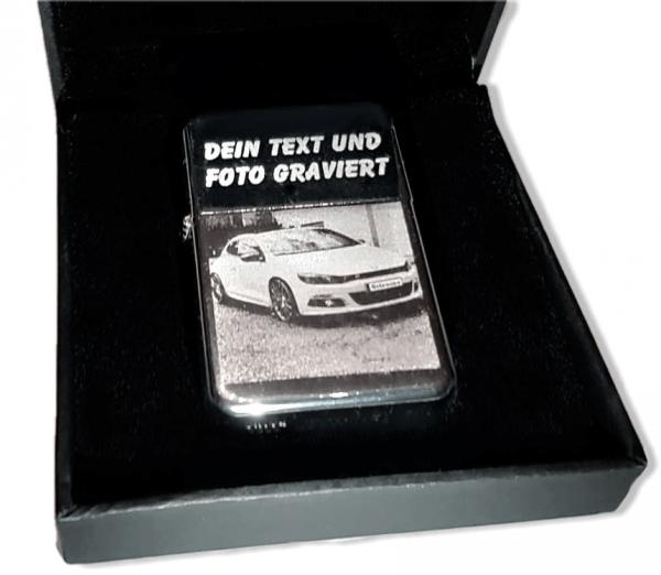 feuerzeug mit gravur bild foto auto graviertes sturmfeuerzeug geschenk