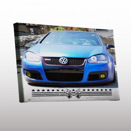 fotoleinwand selbst gestalten auto tuning geschenk foto auf leinwand