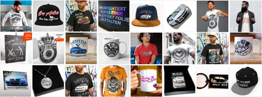autoaufkleber-t-shirt-tuning-geschenke-cap-duftanhänger-kaufen